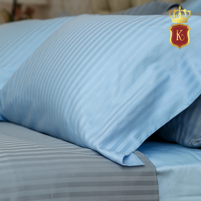 Комплект постельного белья ADELE голубой