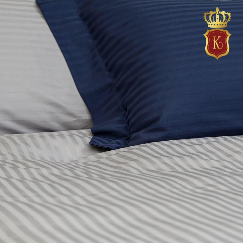 Комплект постельного белья ADELE темно-синий