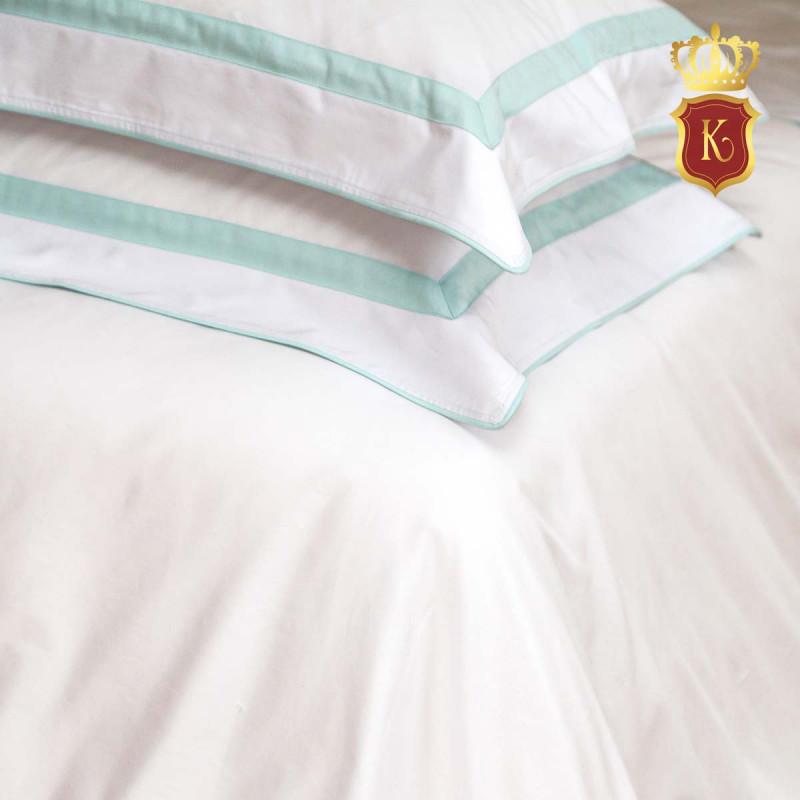Комплект постельного белья MON PARIS Бело-голубой