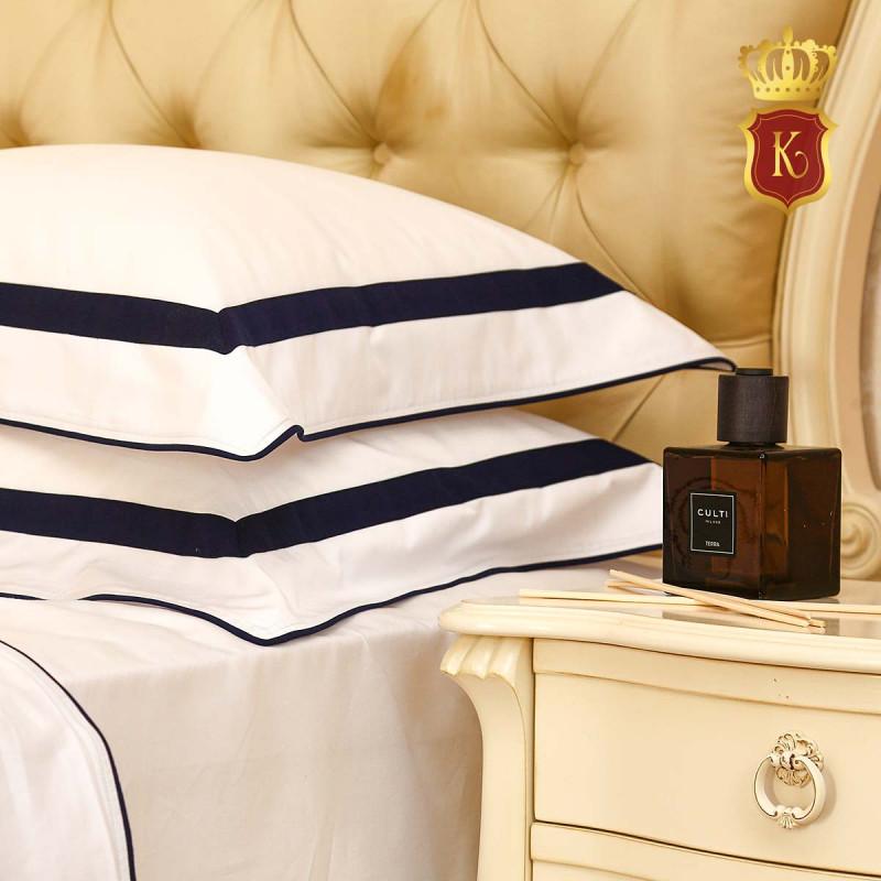 Комплект постельного белья MON PARIS Темно-синий
