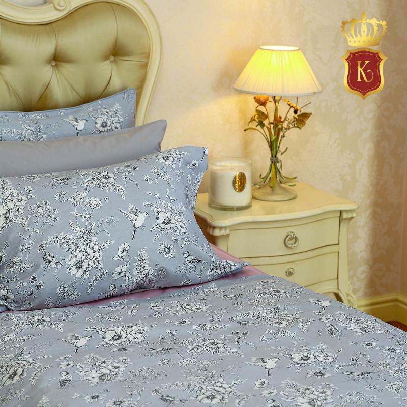 Комплект постельного белья SUMMER Серый