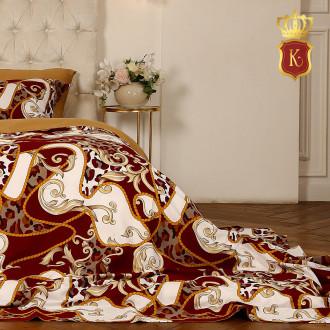 Комплект постельного белья VERSACE Красный