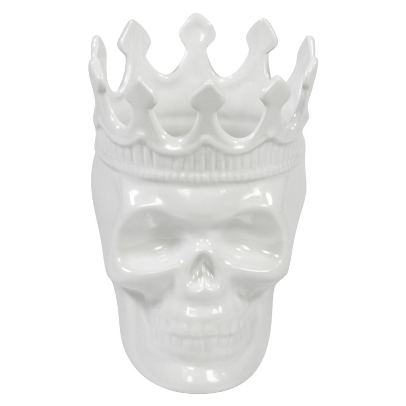 Rose de Vents Louise Skull - Белый череп