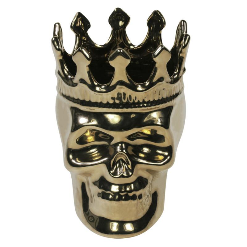Wood Charnel Bonaparte Skull - Золотой череп