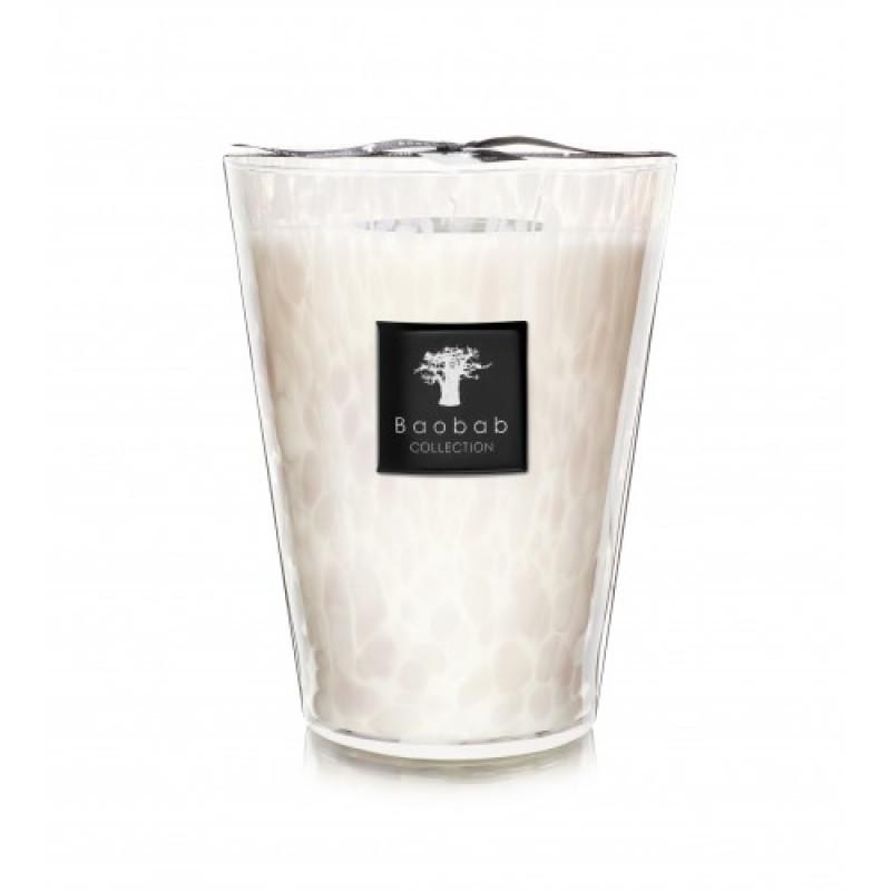 Pearls свеча Max 10 White Pearls 500г